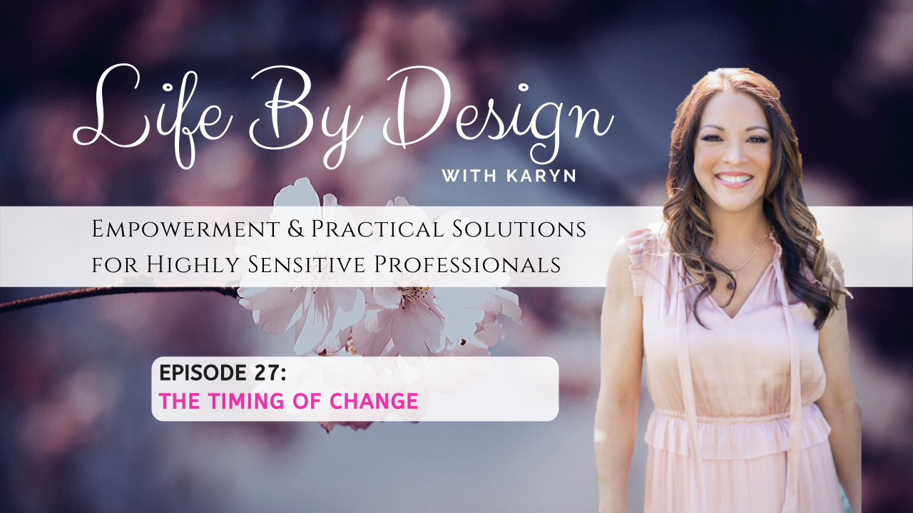 [LBD Video #27]: The Timing of Change